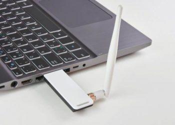Laptop-with-USB-Wi-Fi-card