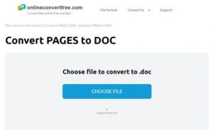 convert page