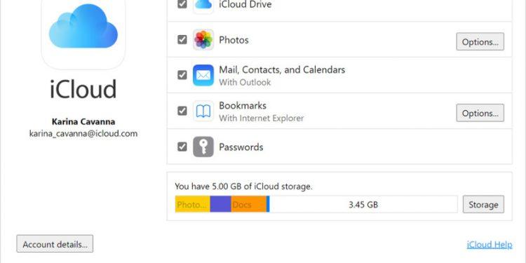 iCloud from Windows File Explorer